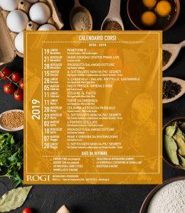 Calendario 2018 - 2019 Rogi