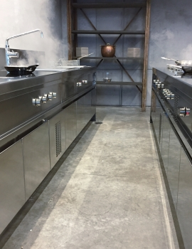 Rana Meal Solution Show Kitchen e Cucina R&D, Chicago